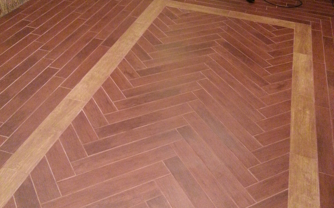 Ceramic Floor with Heat