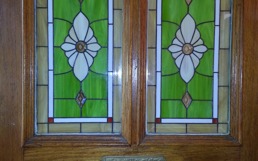 Stained Glass Panels for Entry
